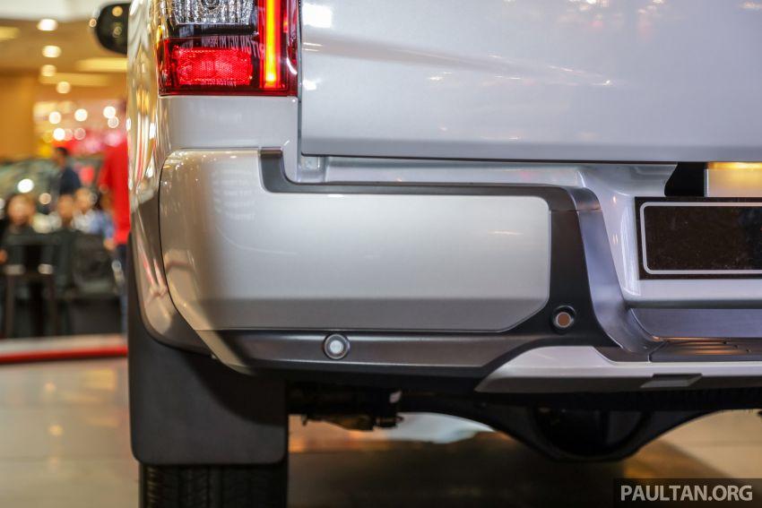 Mitsubishi Triton 2019 dilancarkan di M'sia secara rasmi – 6-kelajuan auto, 5 varian, dari RM100k-RM135k Image #917523