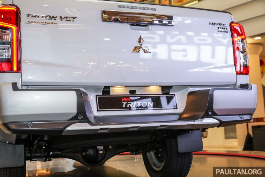 2019 Mitsubishi Triton launched – Dynamic Shield face, 2.4L MIVEC and 6-speed for all, from RM100k Image #917609