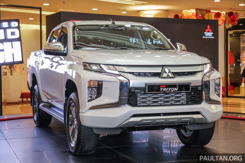 Mitsubishi Triton 2019 dilancarkan di M'sia secara rasmi – 6-kelajuan auto, 5 varian, dari RM100k-RM135k Image #917501