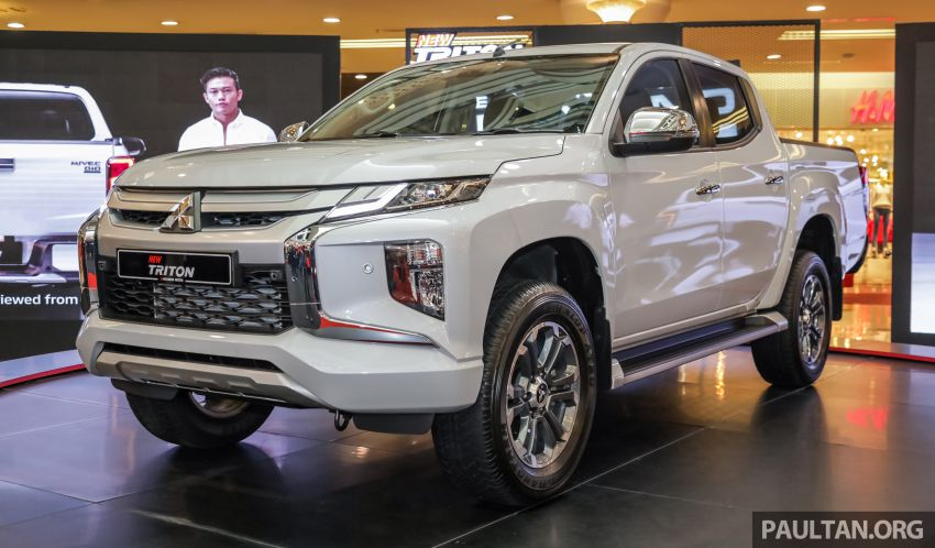 2019 Mitsubishi Triton launched – Dynamic Shield face, 2.4L MIVEC and 6-speed for all, from RM100k Image #917588