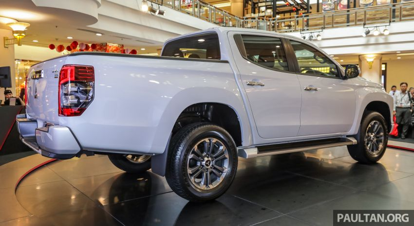 2019 Mitsubishi Triton launched – Dynamic Shield face, 2.4L MIVEC and 6-speed for all, from RM100k Image #917589