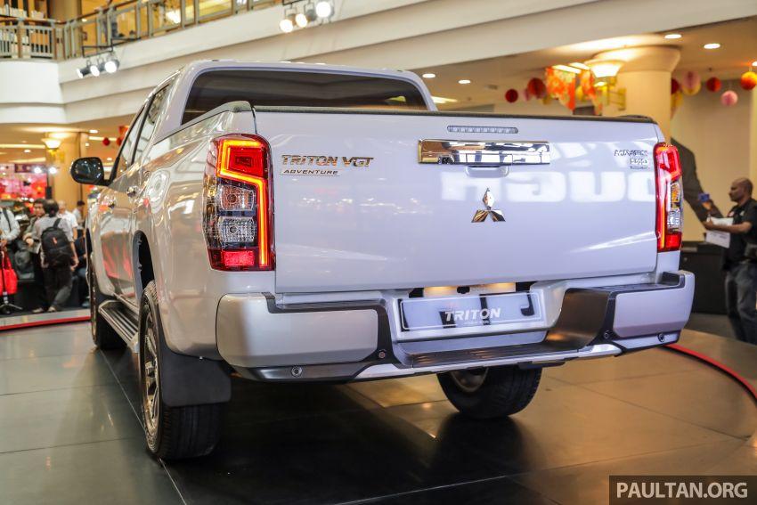 Mitsubishi Triton 2019 dilancarkan di M'sia secara rasmi – 6-kelajuan auto, 5 varian, dari RM100k-RM135k Image #917504
