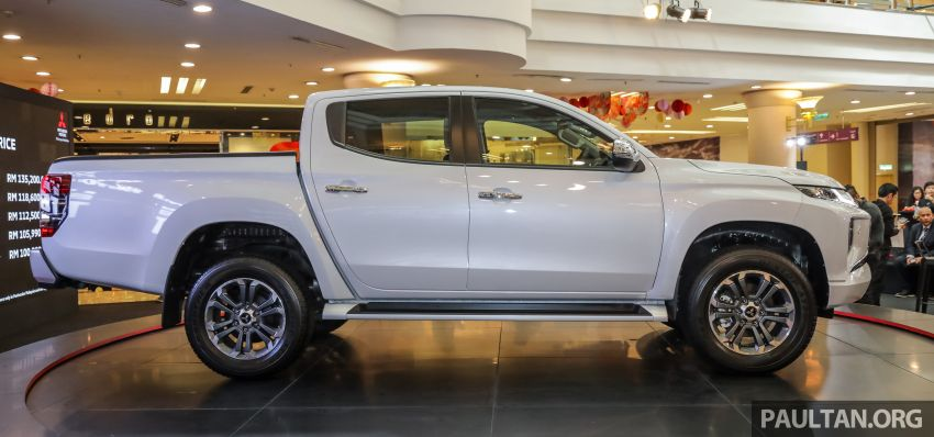 2019 Mitsubishi Triton launched – Dynamic Shield face, 2.4L MIVEC and 6-speed for all, from RM100k Image #917591