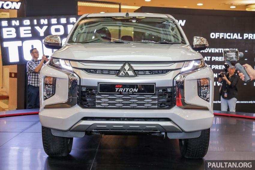 Mitsubishi Triton 2019 dilancarkan di M'sia secara rasmi – 6-kelajuan auto, 5 varian, dari RM100k-RM135k Image #917506