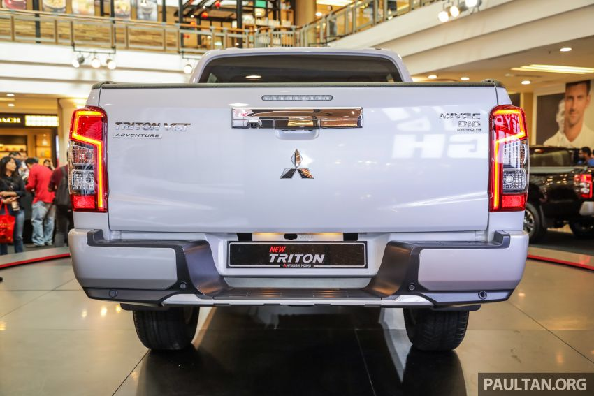 2019 Mitsubishi Triton launched – Dynamic Shield face, 2.4L MIVEC and 6-speed for all, from RM100k Image #917593