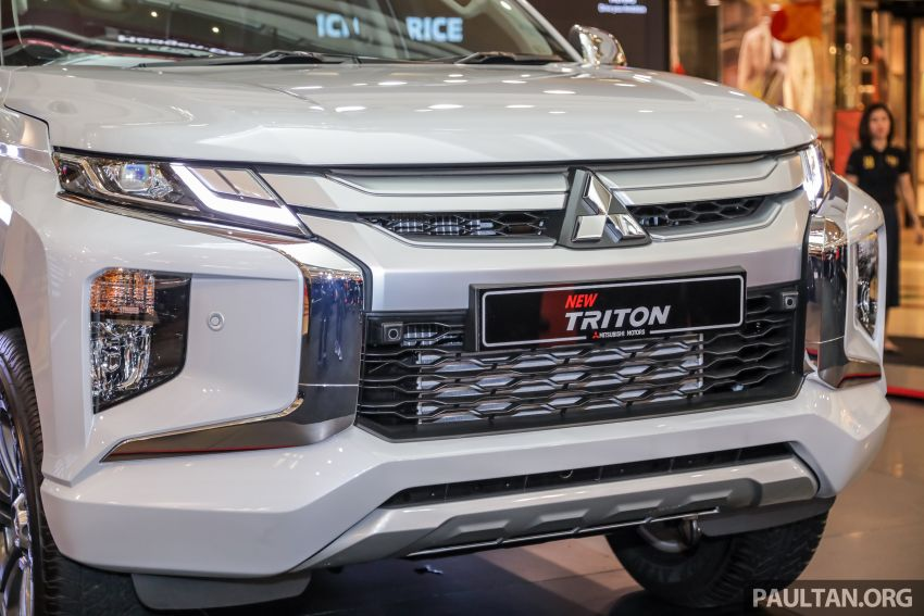 2019 Mitsubishi Triton launched – Dynamic Shield face, 2.4L MIVEC and 6-speed for all, from RM100k Image #917594
