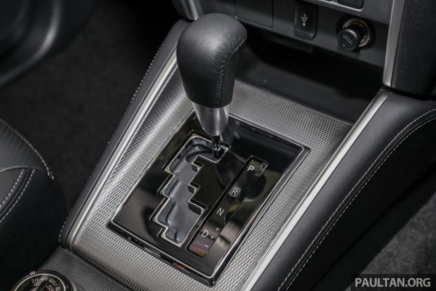 Mitsubishi Triton 2019 dilancarkan di M'sia secara rasmi – 6-kelajuan auto, 5 varian, dari RM100k-RM135k Image #917541