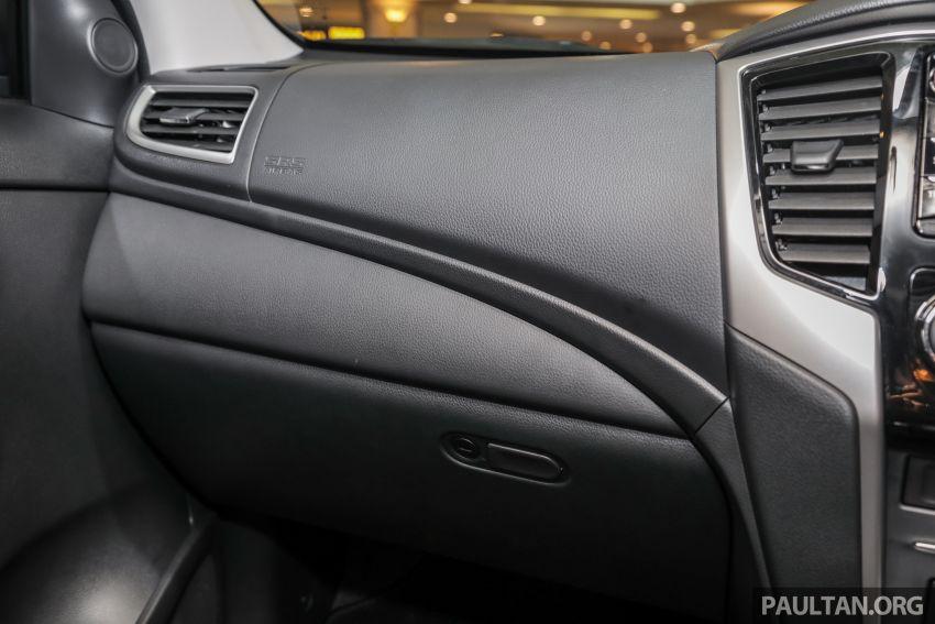 Mitsubishi Triton 2019 dilancarkan di M'sia secara rasmi – 6-kelajuan auto, 5 varian, dari RM100k-RM135k Image #917544