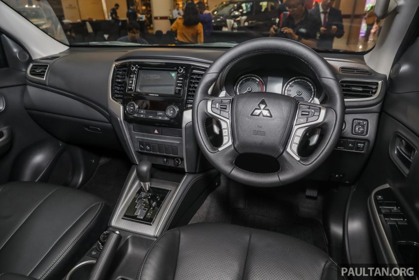 2019 Mitsubishi Triton launched – Dynamic Shield face, 2.4L MIVEC and 6-speed for all, from RM100k Image #917631
