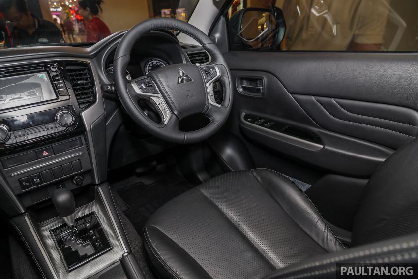 Mitsubishi Triton 2019 dilancarkan di M'sia secara rasmi – 6-kelajuan auto, 5 varian, dari RM100k-RM135k Image #917549