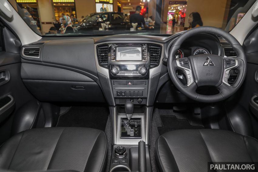 Mitsubishi Triton 2019 dilancarkan di M'sia secara rasmi – 6-kelajuan auto, 5 varian, dari RM100k-RM135k Image #917530