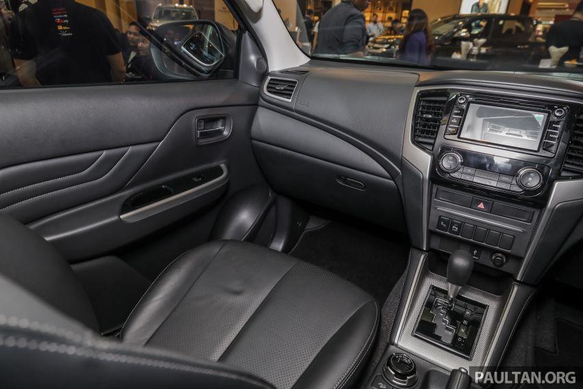 Mitsubishi Triton 2019 dilancarkan di M'sia secara rasmi – 6-kelajuan auto, 5 varian, dari RM100k-RM135k Image #917550