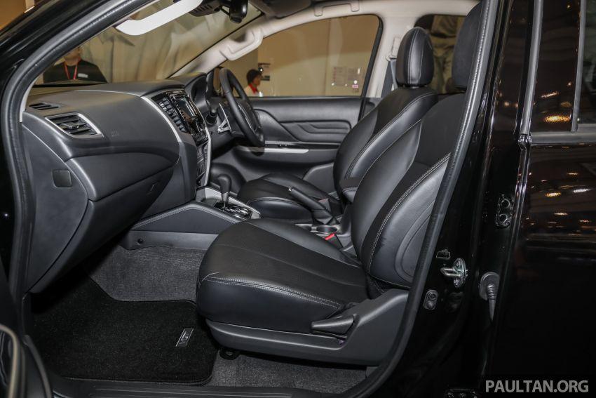 Mitsubishi Triton 2019 dilancarkan di M'sia secara rasmi – 6-kelajuan auto, 5 varian, dari RM100k-RM135k Image #917552