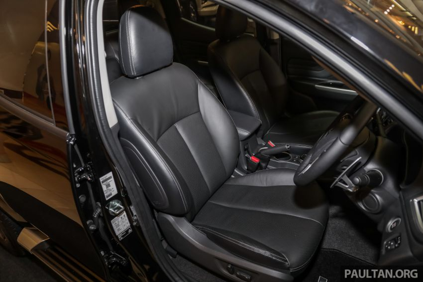 2019 Mitsubishi Triton launched – Dynamic Shield face, 2.4L MIVEC and 6-speed for all, from RM100k Image #917636