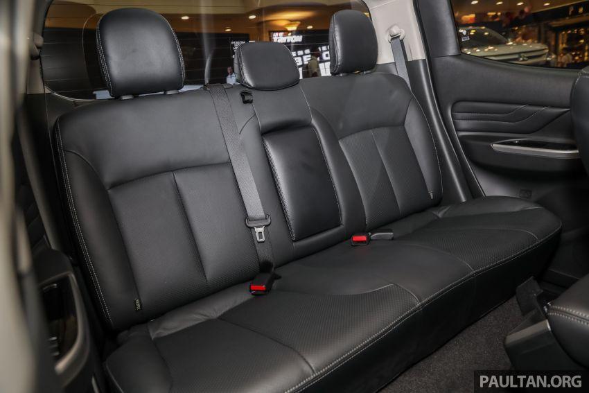 Mitsubishi Triton 2019 dilancarkan di M'sia secara rasmi – 6-kelajuan auto, 5 varian, dari RM100k-RM135k Image #917559