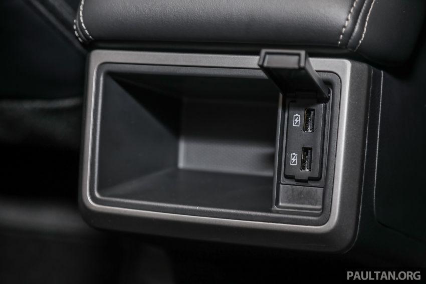 Mitsubishi Triton 2019 dilancarkan di M'sia secara rasmi – 6-kelajuan auto, 5 varian, dari RM100k-RM135k Image #917565