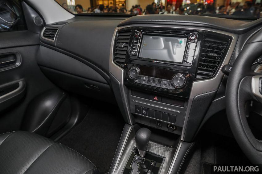 Mitsubishi Triton 2019 dilancarkan di M'sia secara rasmi – 6-kelajuan auto, 5 varian, dari RM100k-RM135k Image #917538