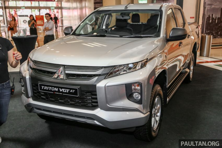 2019 Mitsubishi Triton launched – Dynamic Shield face, 2.4L MIVEC and 6-speed for all, from RM100k Image #917655