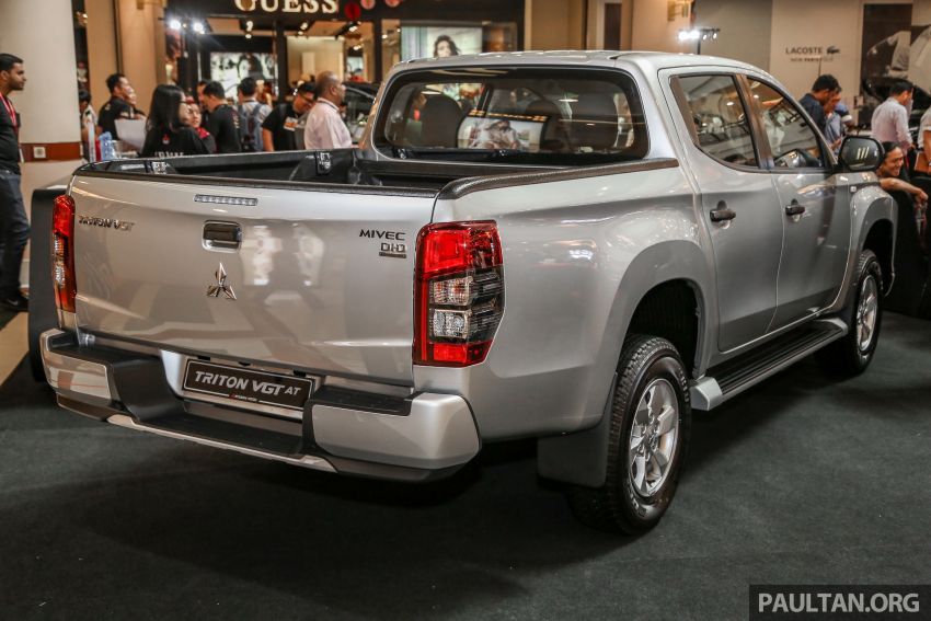 2019 Mitsubishi Triton launched – Dynamic Shield face, 2.4L MIVEC and 6-speed for all, from RM100k Image #917656