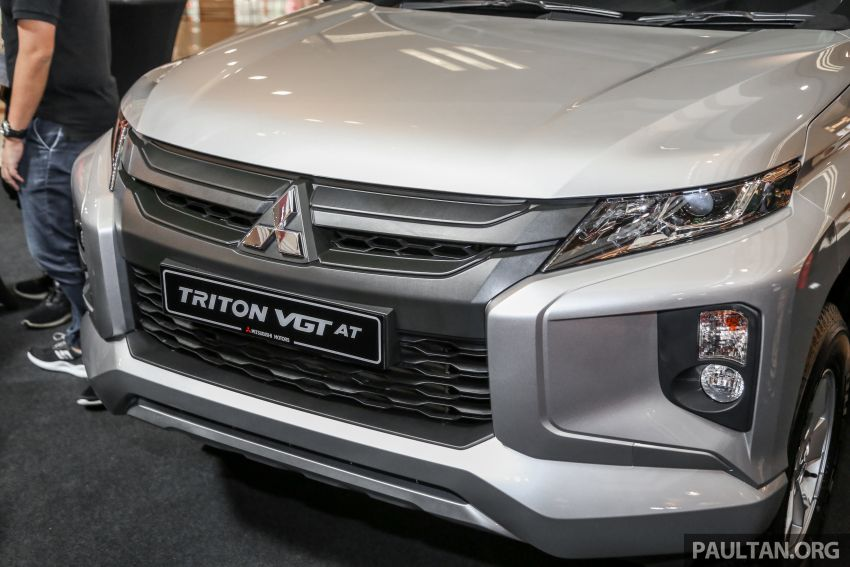 2019 Mitsubishi Triton launched – Dynamic Shield face, 2.4L MIVEC and 6-speed for all, from RM100k Image #917657