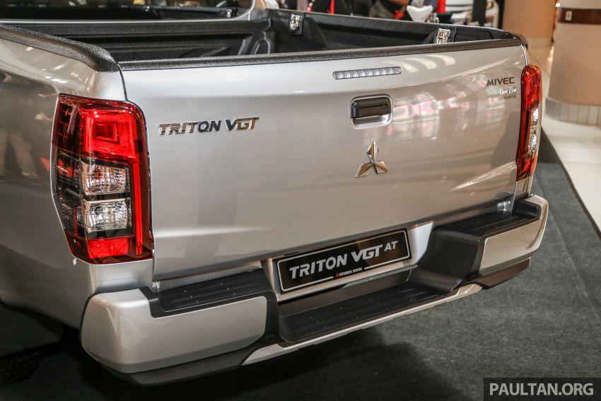 Mitsubishi Triton 2019 dilancarkan di M'sia secara rasmi – 6-kelajuan auto, 5 varian, dari RM100k-RM135k Image #917479