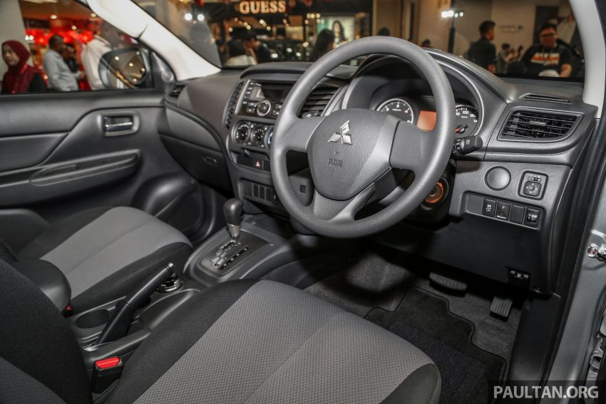 2019 Mitsubishi Triton launched – Dynamic Shield face, 2.4L MIVEC and 6-speed for all, from RM100k Image #917666