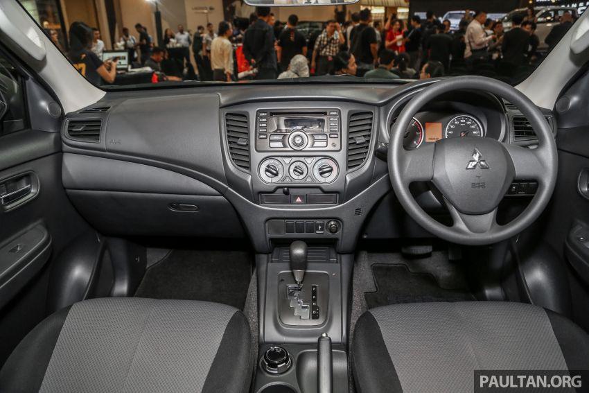 Mitsubishi Triton 2019 dilancarkan di M'sia secara rasmi – 6-kelajuan auto, 5 varian, dari RM100k-RM135k Image #917485
