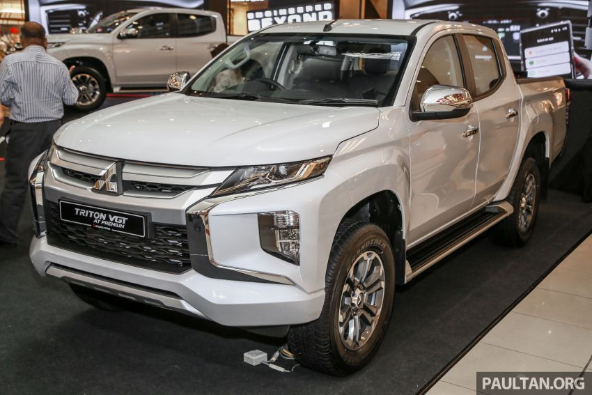 2019 Mitsubishi Triton launched – Dynamic Shield face, 2.4L MIVEC and 6-speed for all, from RM100k Image #917683