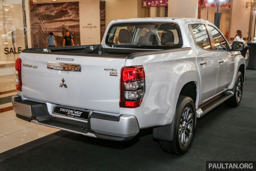 2019 Mitsubishi Triton launched – Dynamic Shield face, 2.4L MIVEC and 6-speed for all, from RM100k Image #917684
