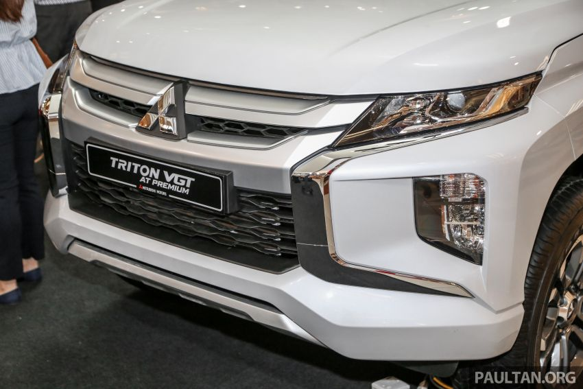 2019 Mitsubishi Triton launched – Dynamic Shield face, 2.4L MIVEC and 6-speed for all, from RM100k Image #917685