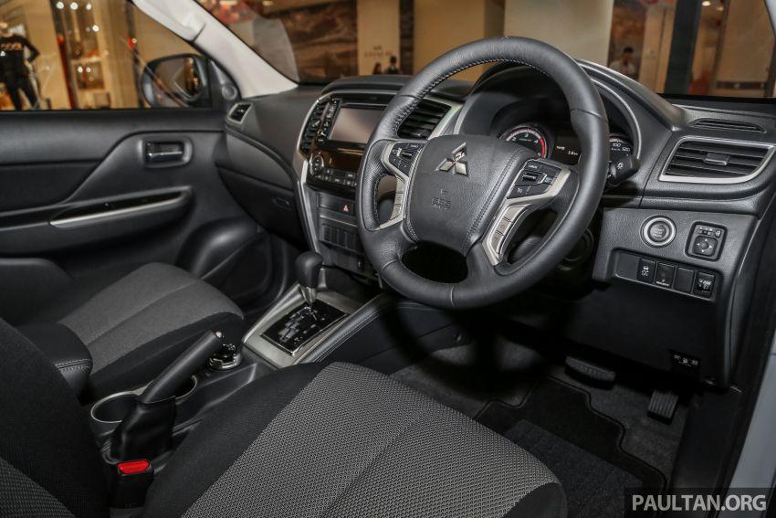Mitsubishi Triton 2019 dilancarkan di M'sia secara rasmi – 6-kelajuan auto, 5 varian, dari RM100k-RM135k Image #917473