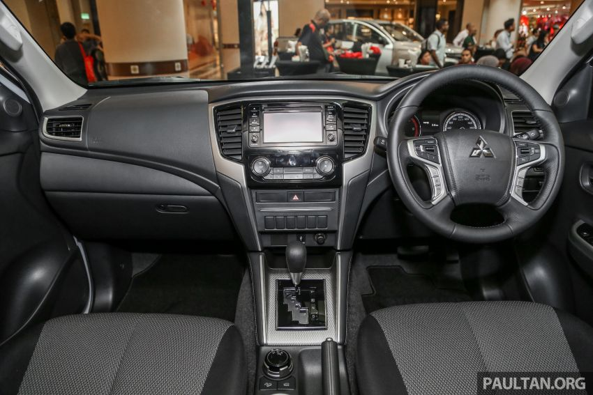 2019 Mitsubishi Triton launched – Dynamic Shield face, 2.4L MIVEC and 6-speed for all, from RM100k Image #917688