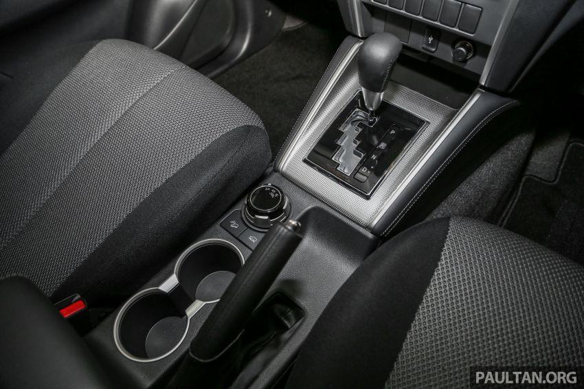 Mitsubishi Triton 2019 dilancarkan di M'sia secara rasmi – 6-kelajuan auto, 5 varian, dari RM100k-RM135k Image #917475