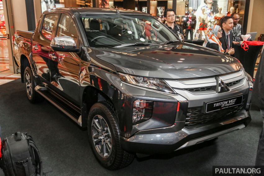2019 Mitsubishi Triton launched – Dynamic Shield face, 2.4L MIVEC and 6-speed for all, from RM100k Image #917690