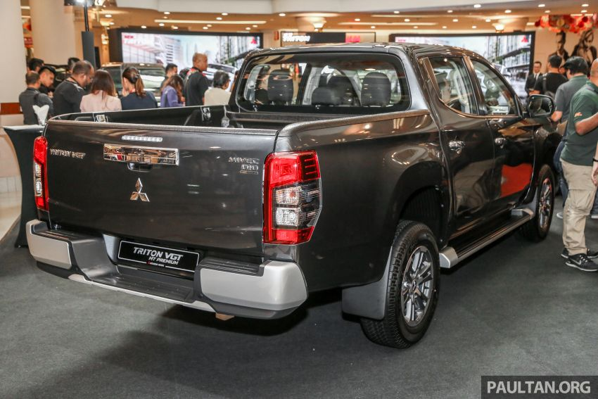 2019 Mitsubishi Triton launched – Dynamic Shield face, 2.4L MIVEC and 6-speed for all, from RM100k Image #917692