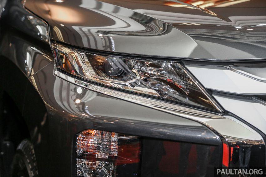 Mitsubishi Triton 2019 dilancarkan di M'sia secara rasmi – 6-kelajuan auto, 5 varian, dari RM100k-RM135k Image #917459