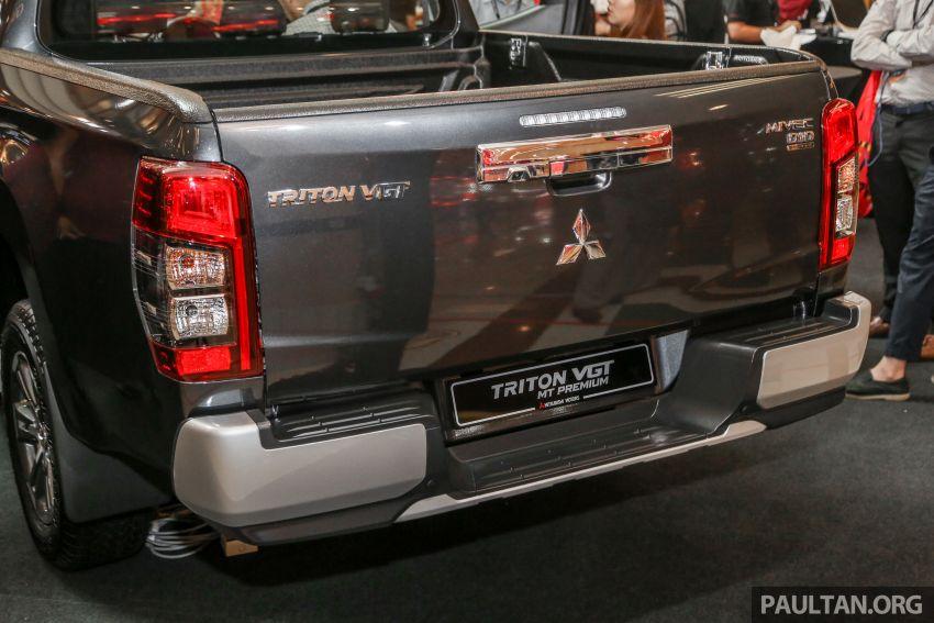 Mitsubishi Triton 2019 dilancarkan di M'sia secara rasmi – 6-kelajuan auto, 5 varian, dari RM100k-RM135k Image #917460