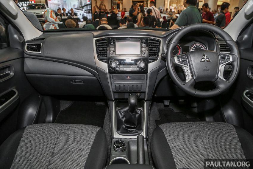 Mitsubishi Triton 2019 dilancarkan di M'sia secara rasmi – 6-kelajuan auto, 5 varian, dari RM100k-RM135k Image #917464