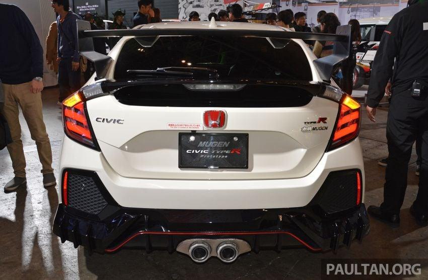 TAS 2019: Mugen Honda Civic Type R FK8 Prototype Image #914034
