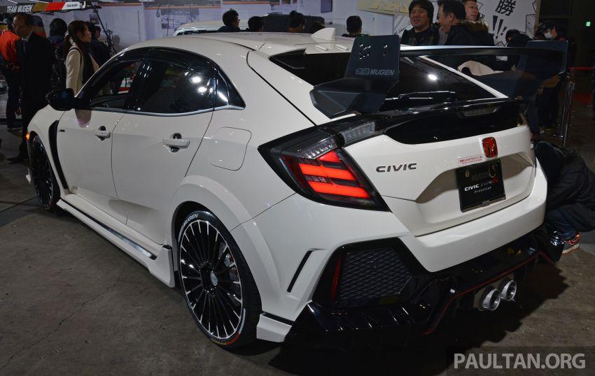 TAS 2019: Mugen Honda Civic Type R FK8 Prototype Image #914036