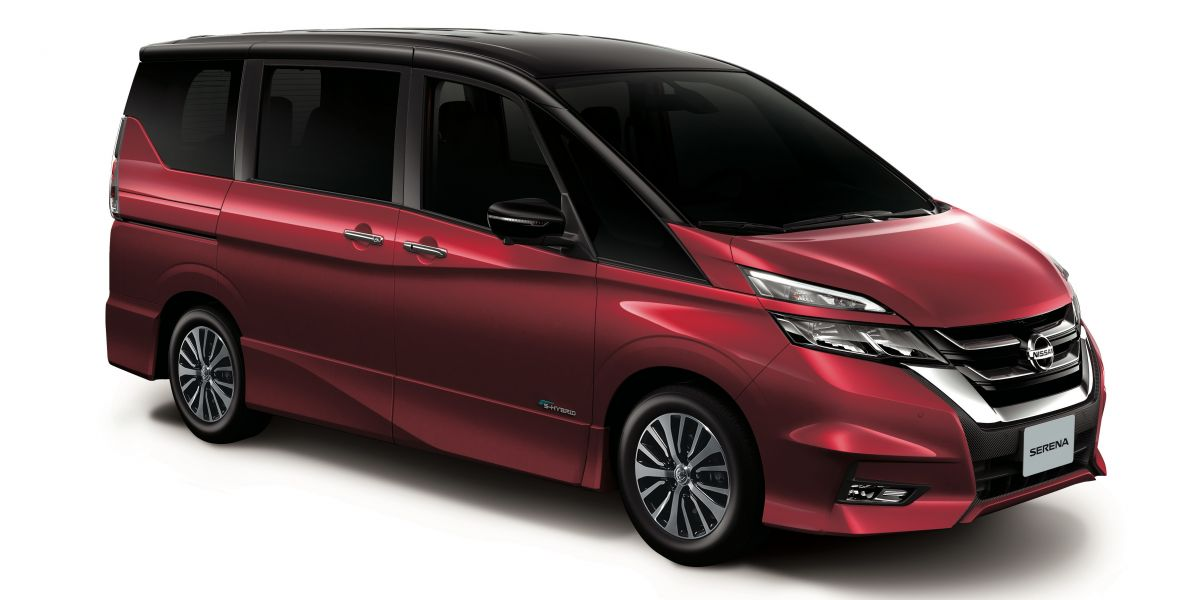 Nissan Serena Now Available In Imperial Red For Cny X