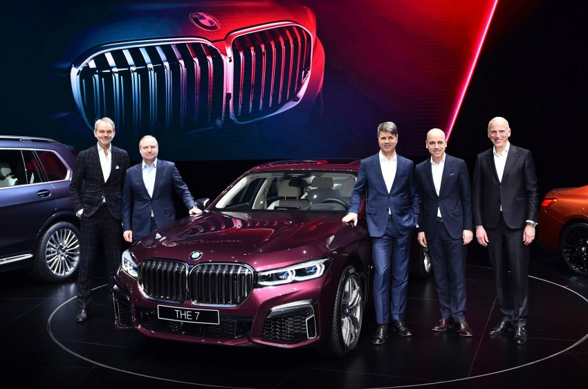 G11/G12 BMW 7 Series LCI debuts – revamped design, new I6 hybrid and V8 powertrains, updated tech Image #912826