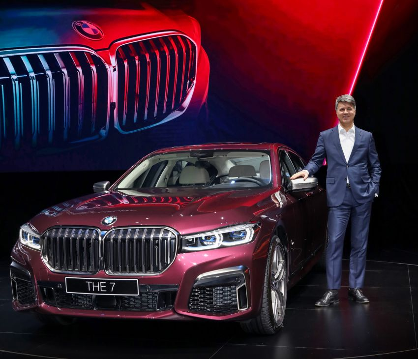 G11/G12 BMW 7 Series LCI debuts – revamped design, new I6 hybrid and V8 powertrains, updated tech Image #912830