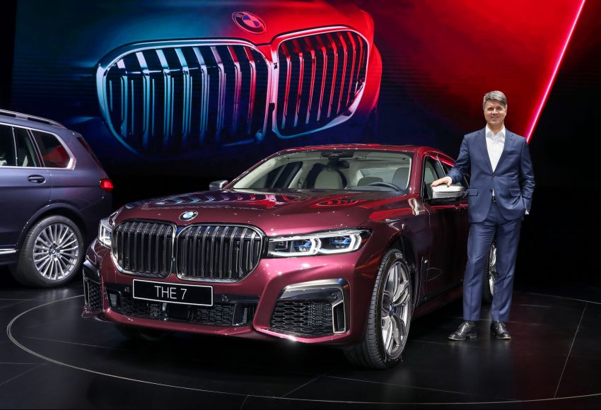 G11/G12 BMW 7 Series LCI debuts – revamped design, new I6 hybrid and V8 powertrains, updated tech Image #912828