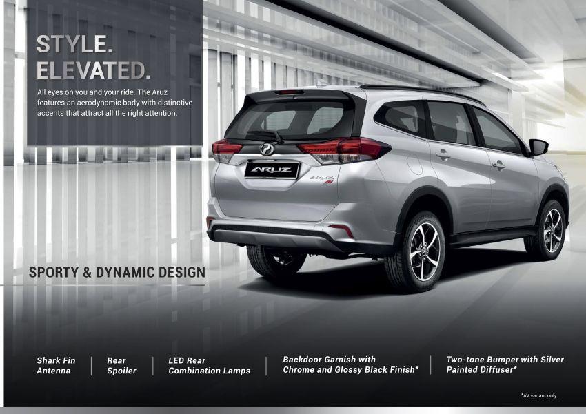 Perodua Aruz dilancar – dua varian, tujuh tempat duduk, 1.5L, ASA 2.0, harga RM72,900 dan RM77,900 Image #911056