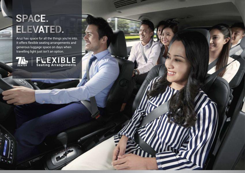 Perodua Aruz dilancar – dua varian, tujuh tempat duduk, 1.5L, ASA 2.0, harga RM72,900 dan RM77,900 Image #911058