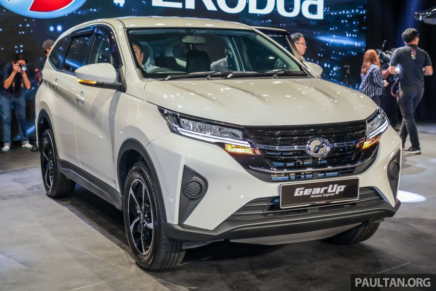 2019 Perodua Aruz SUV launched in Malaysia – seven seats; ASA 2.0; two variants; RM72,900 and RM77,900 Image #911210