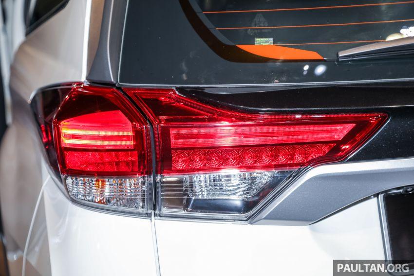 Perodua Aruz dilancar – dua varian, tujuh tempat duduk, 1.5L, ASA 2.0, harga RM72,900 dan RM77,900 Image #911264