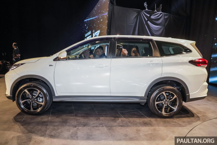 2019 Perodua Aruz SUV launched in Malaysia – seven seats; ASA 2.0; two variants; RM72,900 and RM77,900 Image #911212