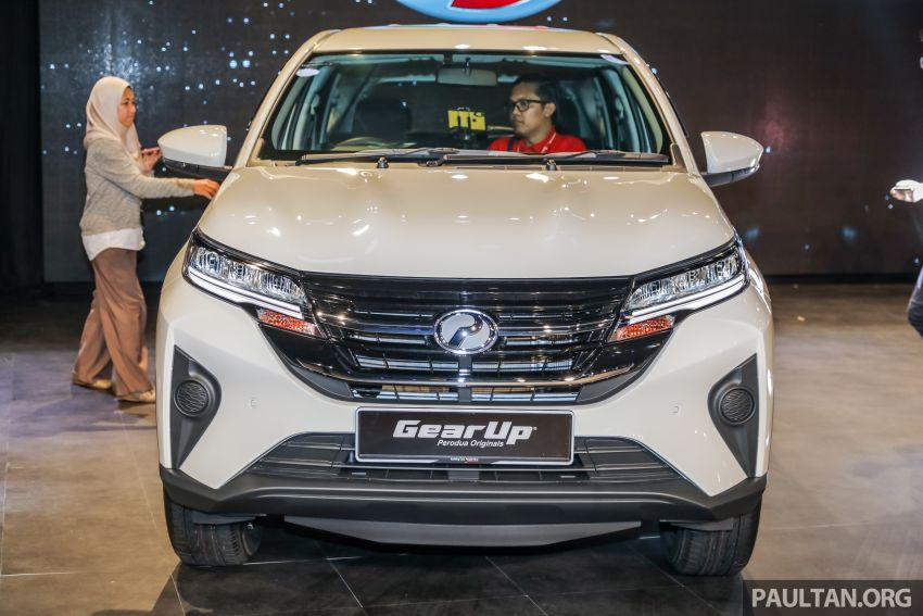 2019 Perodua Aruz SUV launched in Malaysia – seven seats; ASA 2.0; two variants; RM72,900 and RM77,900 Image #911213